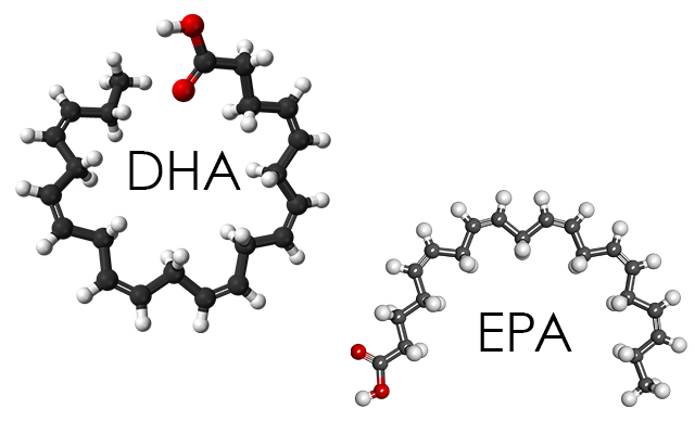 Recommended Amounts of DHA & EPA Daily