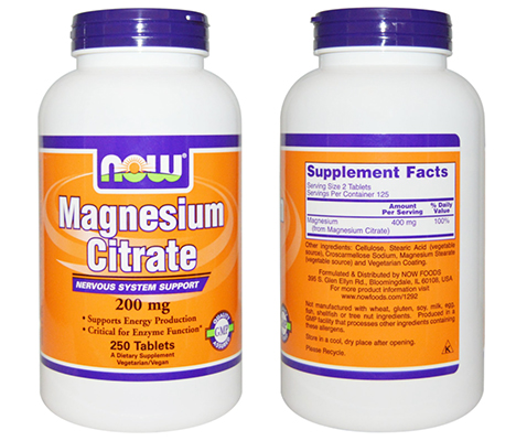 Magnesium citrate good for you