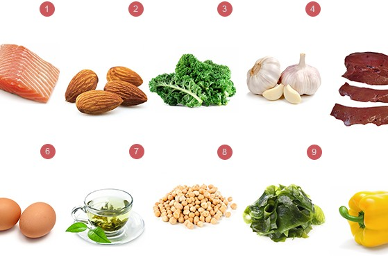 top 10 healthy foods