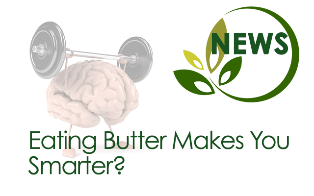 Eating butter makes you smarter