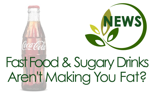 fast food and sugary drinks
