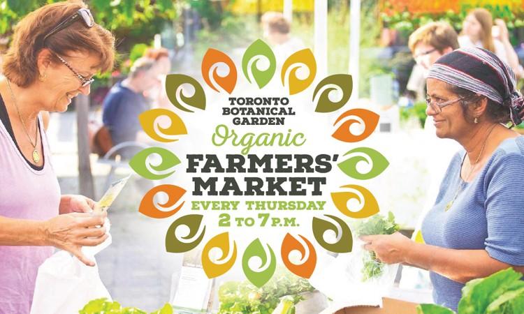 Toronto Botanical Garden, Organic, Farmers Market