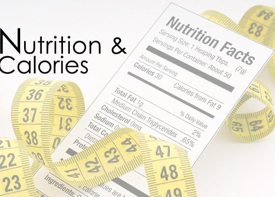 nutrition and calories