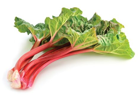 Rhubarb benefits