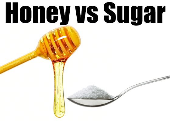 honey vs sugar